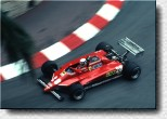 Formula 1 Monaco 1982 - Didier Pironi finished 2nd with the 126C2 s/n 059 which was the only Ferrari entry in the race.