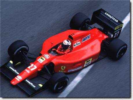 Formula 1 Monaco 1991 - Alain Prost finished in 5th position and did the fastest lap with the 642 s/n 123.