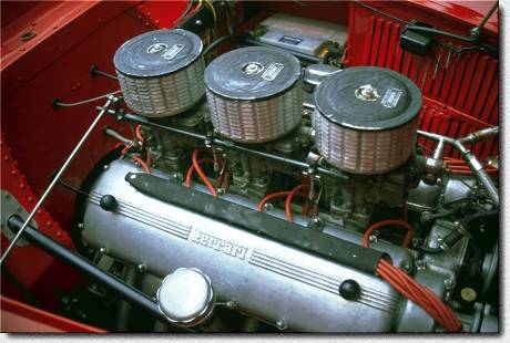 166 MM Touring Barchetta s/n 0056M engine.MM96.001