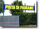Entrance to Pista di Fiorano in 1992