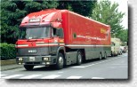 F1 Transporter returning to Maranello in 1995