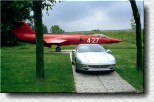 456 GT and Starfighter at Pista di Fiorano 1995