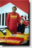 Jacky Ickx and son