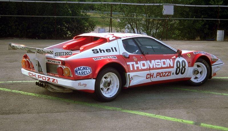 Ferrari Shell Historic Challenge Dijon 512 Bb
