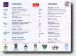 Mille Miglia 98 - Schedule - Program