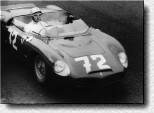 Nürburgring 1000 km 1962: The young Italian talents Lorenzo Bandini and Giancarlo Baghetti drove the Dino 196SP s/n 0804 and retired.