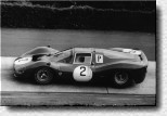 Nürburgring 1000 km 1966: The 330P3 s/n 0848 was seen in practice only. Lorenzo Bandini and John Surtees drove it before it was withdrawn.