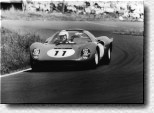 Nürburgring 1000 km 1966: The 2nd place was a great result for the Dino 206S s/n 004 of Lorenzo Bandini and Ludovico Scarfiotti.