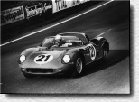Le Mans 24h 1963: The victory of Lorenzo Bandini and Ludovico Scarfiotti with the 250P s/n 0814 was Ferrari's forth successive win in the French classic race.