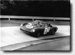 Nürburgring 1000 km 1966: The 250LM s/n 5895 of Clarke/ König retired in the 36th lap.