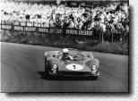 Nürburgring 1000 km 1966: The 330P3 s/n 0846 was the only Ferrari P at the start of the race. It was driven by John Surtees and Mike Parkes. The Englishmen retired.