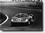 Nürburgring 1000 km 1964: The victory of Nino Vaccarella and Ludovico Scarfiotti with the 275 P s/n 0820 was Ferrari's fourth win in the German race.
