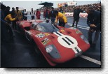 Le Mans 24 h 1970: N.A.R.T. entered the 512S s/n 1014 for Posey and Buckman. The 4th place of the American car was the best Ferrari finish in that race.
