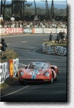 Le Mans 24 h 1965: Pedro Rodriguez and Nino Vaccarella finished 7th with the 365P2 s/n 0838 of the N.A.R.T.
