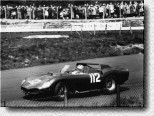 Nürburgring 1000 km 1963: The blue TR 61 s/n 0792 was entered by Scuderia Serenissima. Carlos Maria Abate and Umberto Maglioli finished 3rd.