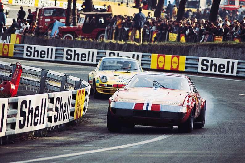 365 Gtb 4 S N 14141 Le Mans 24 H 1972