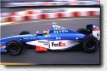 His performance in his 5th Grand Prix was stunning: Alexander Wurz, who brought Michael Schumacher under severe pressure and who overtook Frentzen in a very champion-like way.