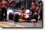 The speed limit of 120 km/h in the pit lane is somehow like the sword of Damocles for the pilots. However, Jacques Villeneuve was unable to score in Brazil.