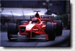 Michael Schumacher and the F300 s/n 184