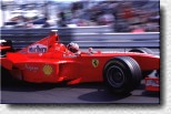 Michael Schumacher in the F300 s/n 184