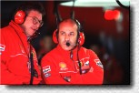 Critical faces in the Ferrari pits