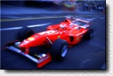 Eddie Irvine in his F300 s/n 184