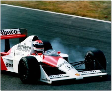 F1 Mclaren Honda V10 Test Driver 1989