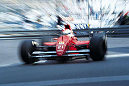 In the streets of Monte Carlo: The 12th position on the grid (followed by teammate Lehto) was not bad, especially since Monte Carlo is probably the most difficult circuit in the world of Formula 1.