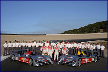 The team of Audi Sport North America