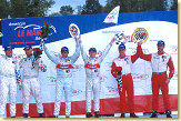 McNish & Capello inherited the victory, Frank Biela crossed the start finish line in 4th position