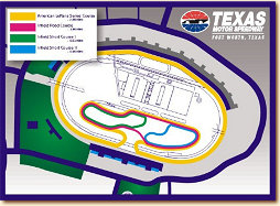 Texas Motor Speedway Track Map