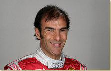 Audi factory driver Emanuele Pirro