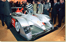 The Audi R10 was one of the attractions of the Audi Designers´ Tuesday