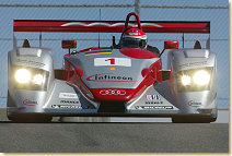 Emanuele Pirro in the Infineon Audi R8