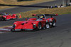 The Panoz team has returned to using the 2000 LMP01 cars for Sears Point - David Brabham leads Franck Lagorce