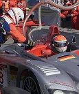 During his pit stop Emanuele Pirro lost his 12 second lead, team orders placed the #78 Audi in second position