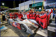 The winning Audi team