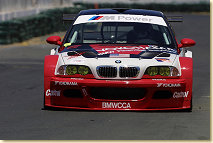 Hans Stuck in the PTG BMW M3 GTR