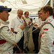 Rinaldo Capello (links) and Tom Kristensen