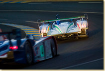 The night qualifying at Le Mans