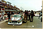 "In 1981, the ""young gun"" Pirro was part of the Martini Racing Team which was responsible for Lancia's engagement in the sportscar world championship. In Le Mans, he teamed-up with Gabbianni who badly crashed the car in the fourth hour. Up to that point of the race, a driver and a marshal had been killed in an accident; for the first time in his career, Emanuele had been confronted with the possibility of death in a race, hence he felt somehow eased by the fact that it was already over for him."