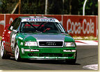 1994 was Emanuele's first year with Audi; on the first attempt, he did win the Italian championship in his Audi 80 Competition.