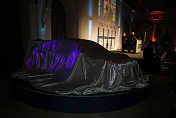 The Audi A4 DTM before the unveilling