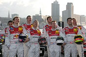 The Audi drivers for the DTM 2005