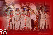 Gallery I - Victory Lane - Allan McNish, Michele Alboreto, Rinaldo Capello, the Winning Team -  Frank Biela, Emanuele Pirro and Tom Kristensen, the Sebring Race Queen, Joerg Mueller and J.J. Lehto